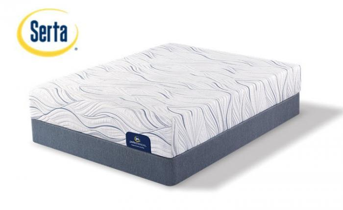 Saddlebrook Plush Perfect Sleeper King Size Set,Serta