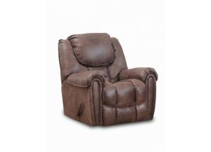 Dixie Brown Double Reclining Set - Recliner