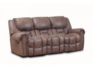 Enterprise - Power - Double Reclining Chocolate Set - Sofa