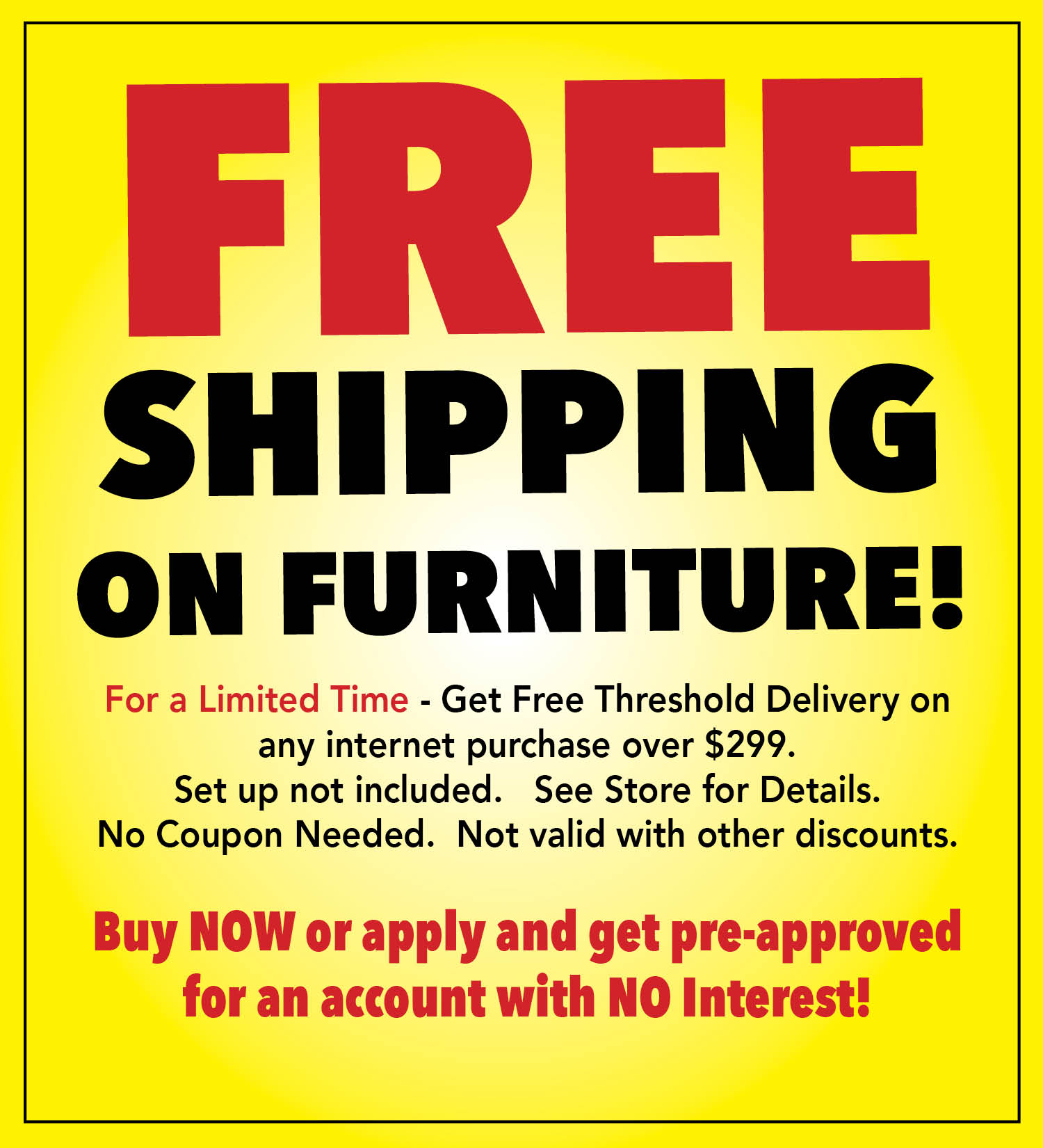 Free shipping threshold