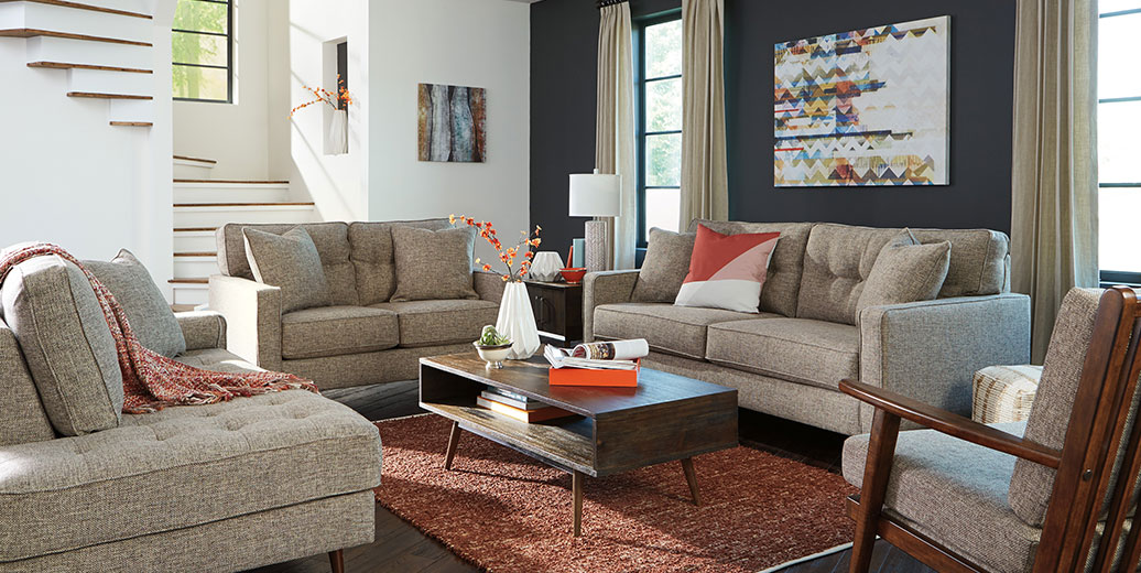 Dahra Jute Sofa and Loveseat