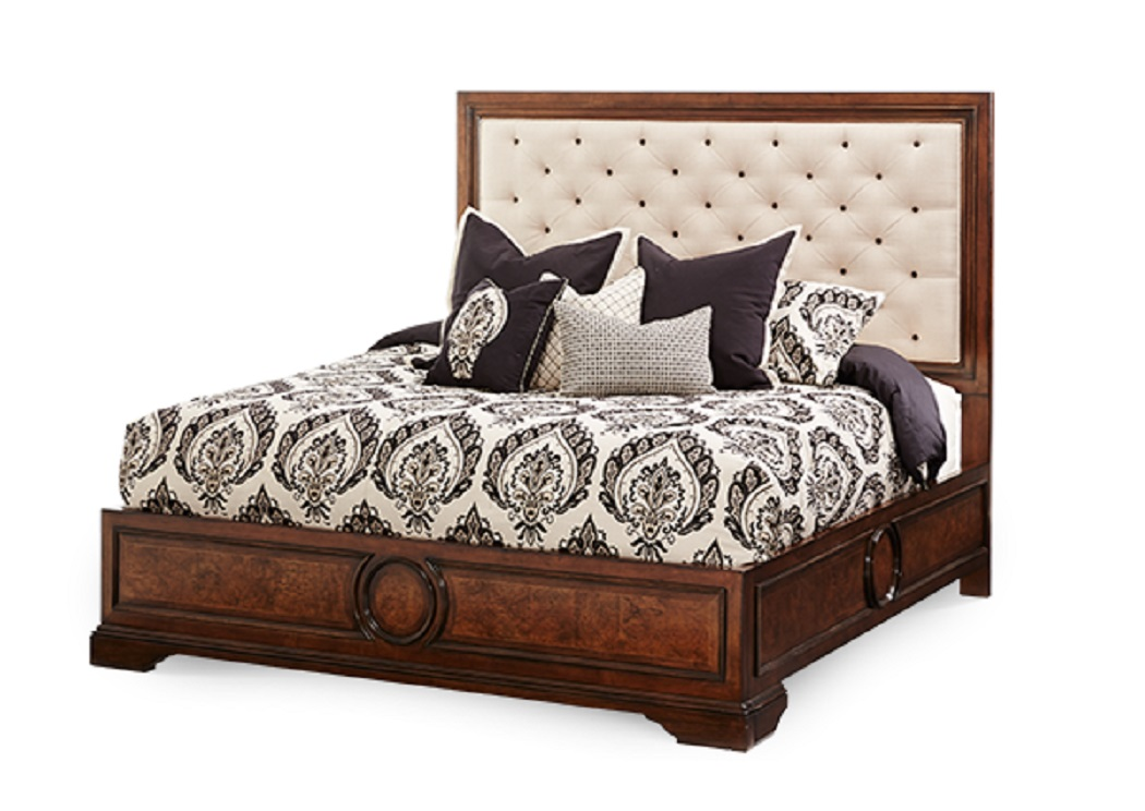 Michael Amini Bella Cera Eastern King Bed ,Specials