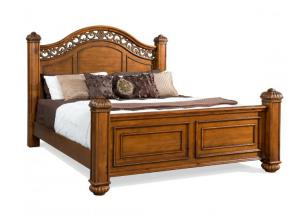 Elements International Barkley Square Bed