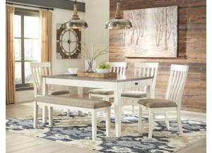 Image for Bardilyn Table with 4 Side Chairs and Bench