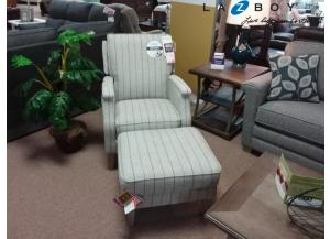 Image for Cambridge Reclining Chair with Ottoman