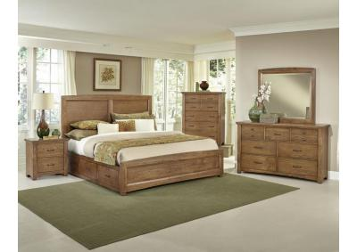 Image for Transitions- Queen Storage Bedroom Set