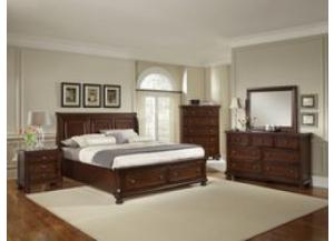 Image for Reflections-Queen Storage Bedroom Set