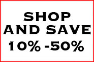 Shop and Save 10%- 50%