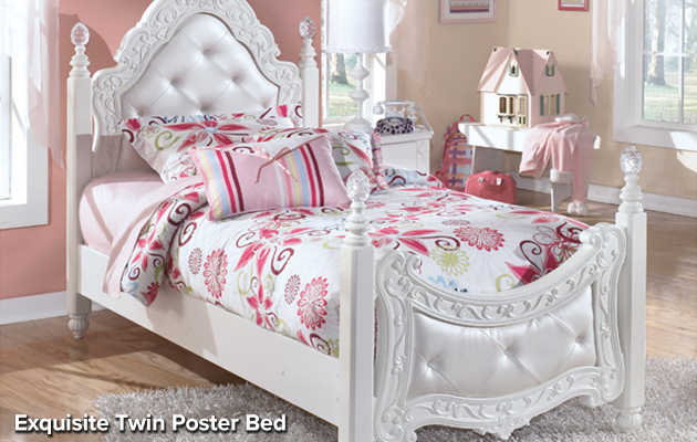 girl's bedroom set