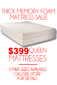 Thick Memory Foam Mattress Sale