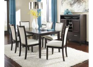 Trishelle Table & 4 Chairs