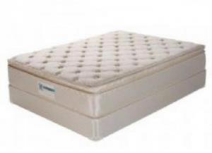 Inspiration Pillow Top Full Mattress and Box Spring