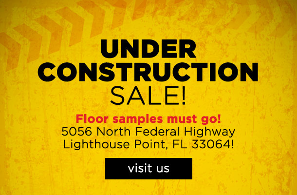 Under Construction Sale