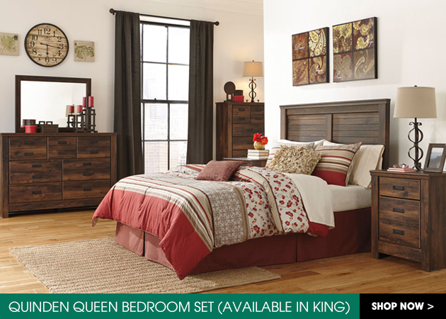 Quinden Queen Bedroom Set