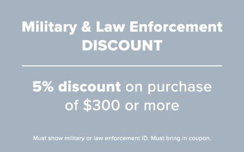 Military & Law Enforcement Discount