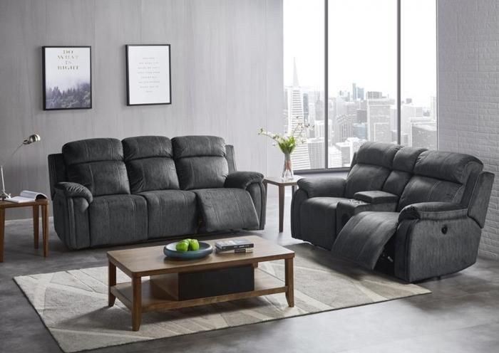Tango Reclining Sofa and Reclining Console Loveseat w/Bluetooth Sleepers,Harlem In-Store