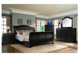 Cameron Queen Bed, Dresser, Mirror, ! Night Stand and Chest