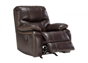 Pranas Brindle Power Rocker Recliner