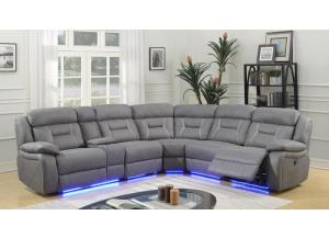 Anderson Power Reclining Sectional