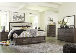 Image for B497 Queen Bed, dresser, mirror, chest and night stand