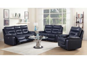 Hayat Power Reclining Sofa And Reclining Loveseat
