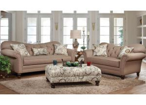 8750 Sofa and Loveseat