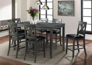 Alex Table and 6 stools