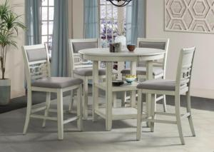 Image for Amherst Counter Height Table & 4 Stools