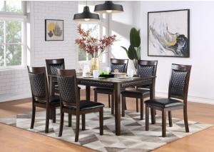 Image for D247 Dining Table And 6 Chairs