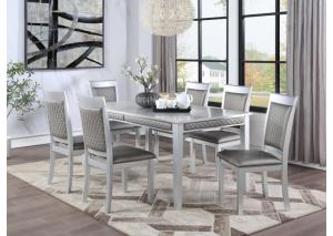 Image for D248 Dining Table And 6 Chairs