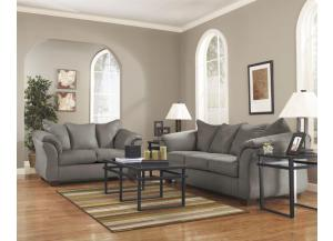 Darcy 12 Piece Package Incudes, Sofa,Loveseat,Cocktail Table, 2 End Tables, 2Lamps and 5 Matching Accesories