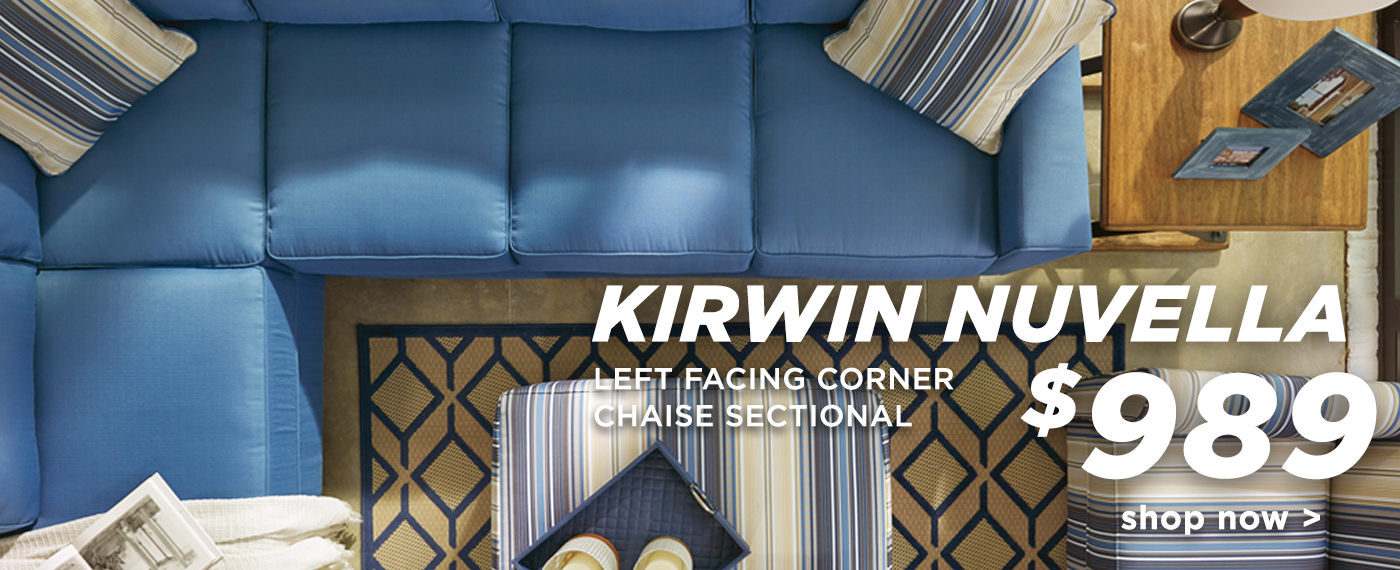 Kirwin Nuvella Sectional
