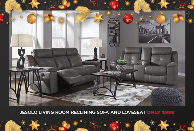 Jesolo Reclining Sofa and Loveseat Special