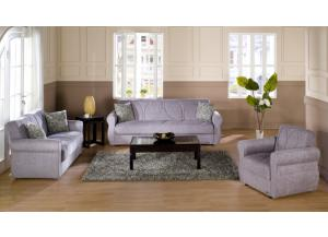 Melody 3pcs. Sofa, Love Seat, Chair
