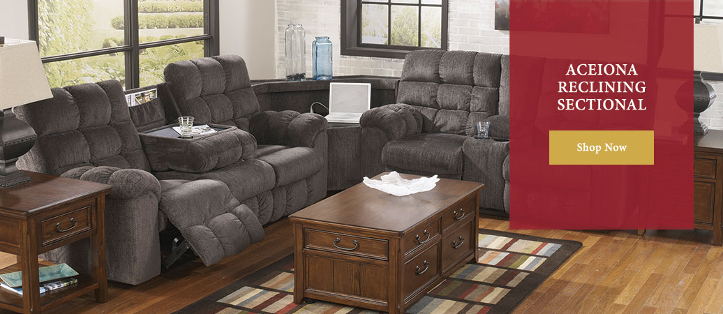 Aceiona Reclining Sectional