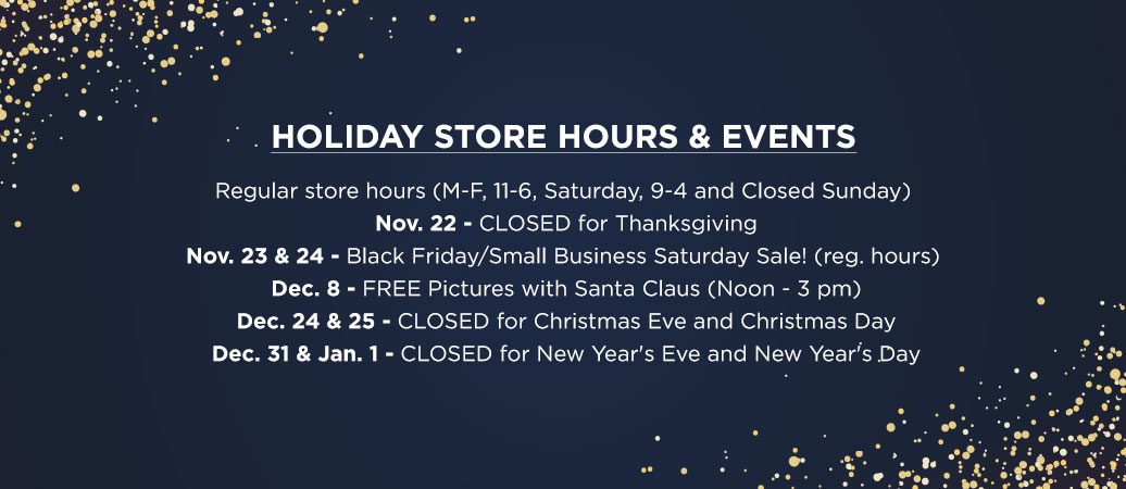 Holiday Hours and Events