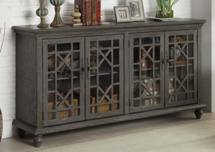 Leyton accent credenza - grey,In-Store Products