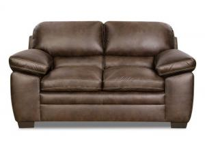 Bolton Loveseat by Simmons Upholstery | Brown