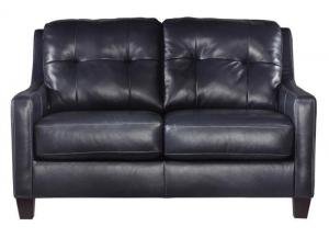 Signature Design by Ashley O'Kean Loveseat - Navy