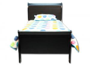 Louis Philip Twin Bed - Black