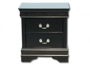 Louis Philip Nightstand - Black