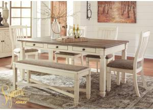 Bolanburg 6 pc dining room