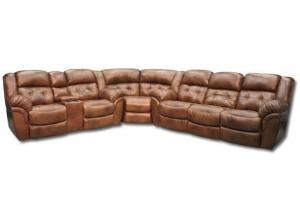 Abilene Reclining Sectional Sofa by Homestretch