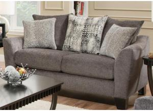 Brand New Pillowback Loveseat by Albany