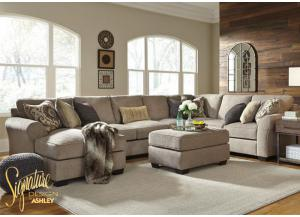 Pantomine left chaise sectional