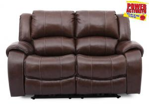 Kade POWER Reclining Loveseat - brown