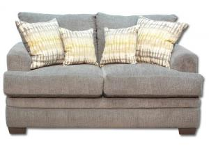 Perth Loveseat by American Furniture - Smoke