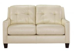 Signature Design by Ashley O'Kean Loveseat - Cream