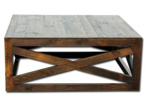 Ivy cocktail table - brown