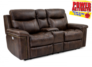 Phoenix POWER Reclining Loveseat